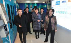 Wang Aiping, vice chairman of Jiangsu Federation of Trade Unions, went to WELM to inspect the work of the trade union