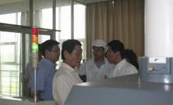 日本铃木株式会社社长莅临威尔曼